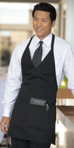 Formal V-Neck Apron
