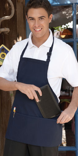 Adjustable - Bib Three Pocket - Apron