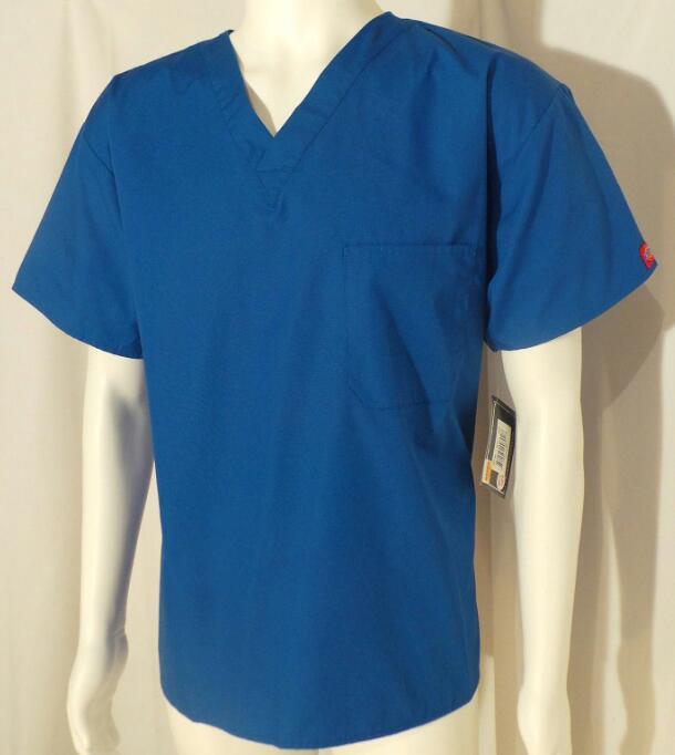 Dickies Royal Blue Men S Top Scrubs N Such