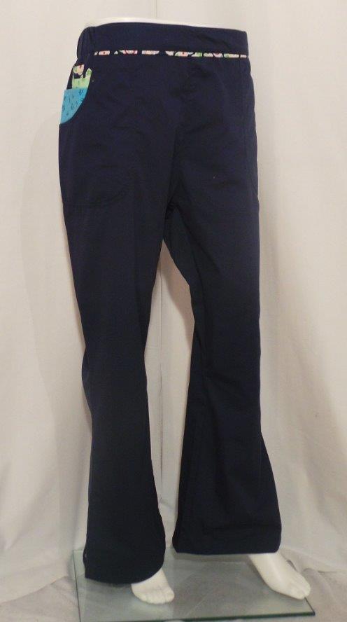 823b7a92c03 Mary Englebreit Navy Petite Pant