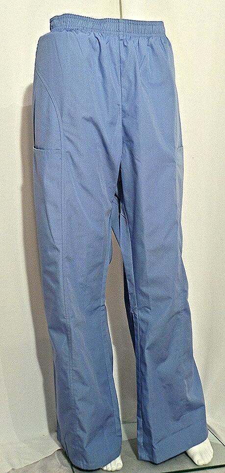 Cherokee Light Blue Elastic Waist Pant Scrubs N Such